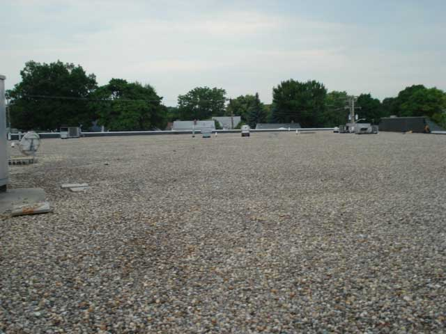 Flat roofing commercial property inspections