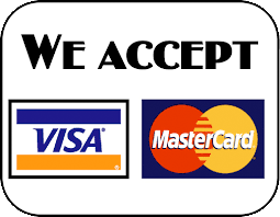 we accept visa and mastercard payments for home inspections