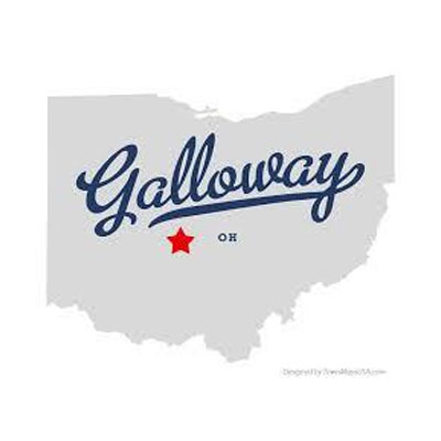 Map of Galloway Ohio